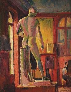 Max Weber, 'The Apollo in Matisse's Studio', 1908