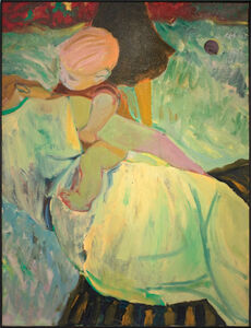 Elmer Bischoff, 'On the Grass', 1954