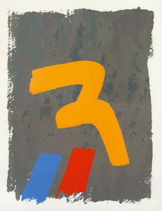 Jack Bush, 'Yellow Mark', 1971