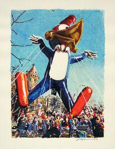 Ron Kleemann, 'Study for 'Pecker Heads'', 1987