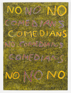 Anthony Campuzano, 'No Comedians', 2015