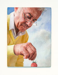 Gareth Cadwallader, 'Man with Tomato 3', 2014
