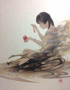 Yoji Kumagai, 'Black Dress and Scarlet Jam', 2019
