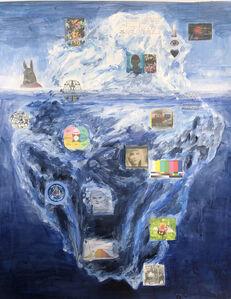 Tony Oursler, 'Iceberg', 2020
