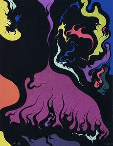 Luigi Boille, 'Flames ', 1971