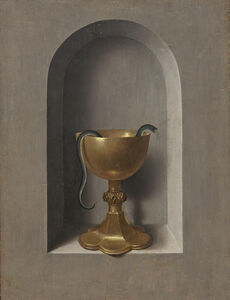 Hans Memling, 'Chalice of Saint John the Evangelist [reverse]', ca. 1470/1475