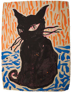 Chen Dongfan, 'Black Cat', 2016