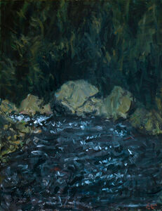 Eugene Leake, 'Rocks and Water', 1996