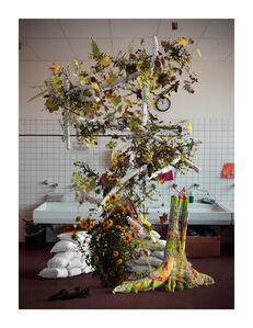 Tim Berresheim, 'Das Grosse Haus. Pinsel Waschen!', 2020