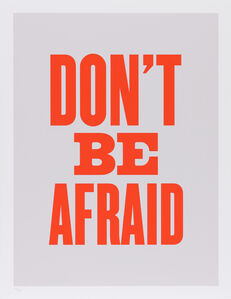 Susan O'Malley, 'Don't Be Afraid, from the series Advice from my 80 Year-Old-Self', 2015