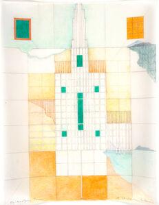 Barbara Stauffacher Solomon, 'The Western Town', 1986