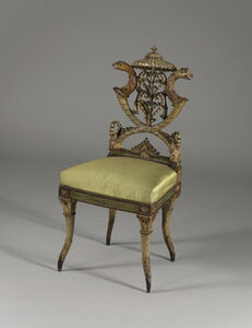 Michelangelo Pergolesi, 'Side chair', ca. 1785