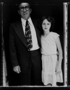 Bill Burke, 'Reverend Elkins and Niece, Church in Jesus Name, Jolo, West Virginia'