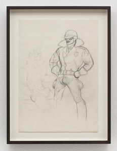 Tom of Finland, 'Untitled (Preparatory Drawing)', c. 1980