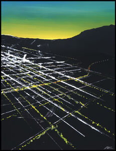 Pete Kasprzak, 'California Sunset Aerial', 2019
