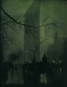 Edward Steichen, 'The Flatiron - Evening', 1905