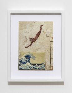 Max Frisinger, 'H.D.N.R.I.B.I.R. (Tomba del Tuffatore / Hokusai)', 2016