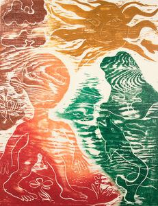 Ken Kiff, 'Green Flower', 1990