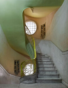 Michael Eastman, 'Deco Stairwell #2, Havana', 2014