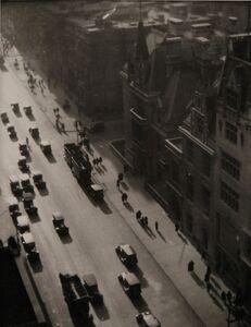 Ralph Steiner, 'Misty Day Fifth Avenue', 1921