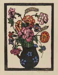 Margaret Preston, 'Flowers in Jug', c.1929