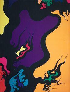 Luigi Boille, 'Fluire', 1971