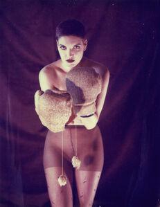 Carmen de Vos, 'Boxing Elena - Unique piece in Resin - Original Polaroid, Women, Contemporary', 2012