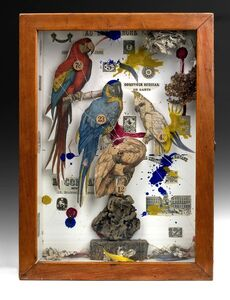 Joseph Cornell, 'Habitat Group for a Shooting Gallery', 1943