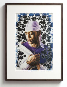 Kehinde Wiley, 'Tomb of Pope Alexander VII Study I', 2016