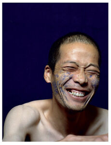 Ni Haifeng, 'Self-Portrait as Part of the Porcelain Export History 3 - smile', 1999-2001