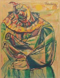 Nahum Tschacbasov, 'Clown', 1957