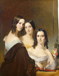 Thomas Sully, 'The Coleman Sisters', 1844
