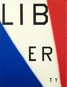 Ed Ruscha, 'Liberty', 2011