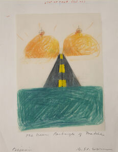 Barbara Stauffacher Solomon, 'The Green Rectangle of Paradise', 1992