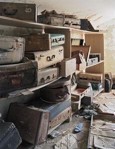 Christopher Payne, 'Patient Suitcases in Ward Attic, Bolivar State Hospital, Bolivar, TN', 2007