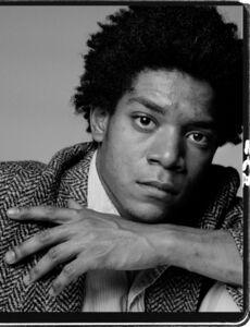 Richard Corman, 'Basquiat A Portrait I', 1984