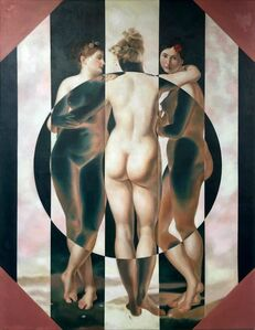 Masha Gusova, 'Three is A Crowd (after Jean-Baptiste Regnault) ', 2018