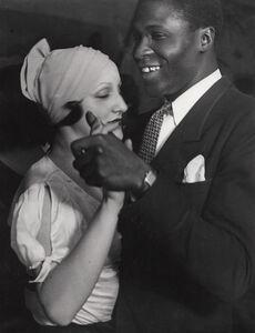 Brassaï, 'Couple Au Bal Blomet, Paris', 1931