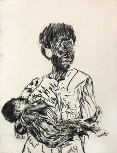 Nelson Makamo, 'Mother and Child', 2018