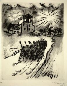 Max Pechstein, 'Somme, 1916', 1918