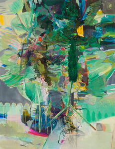 Dorothee Kreutzfeldt, 'last resort and cypress stand', 2018