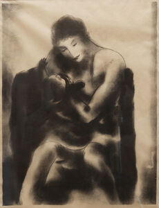 B. J. O. Nordfeldt, 'Mother and Child'