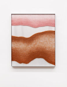 Mimi Jung, 'Pink and Rust Live Edge Forms', 2019