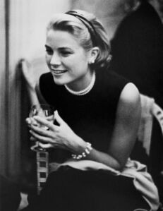 Edward Quinn, 'Grace Kelly during a person cocktail party at the Carlton Hotel, 1954v'