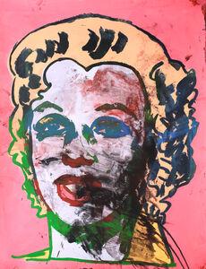 Otto Muehl, 'Dirty Marilyn', 1990