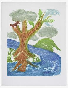 Ken Kiff, 'Woman in River ', 1993