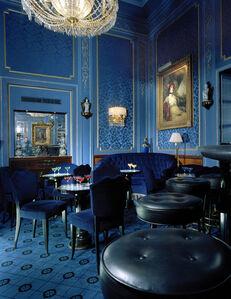 Oliver Mark, 'Blaue Bar, Selbstportrait, Wien', 2005