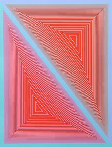 Richard Anuszkiewicz, 'Inward Eye #3', 1970