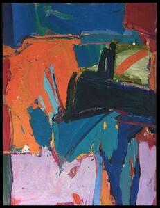 Chuck Close, 'Untitled (Orange/Pink)', 1962