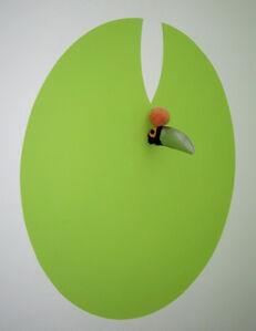 Sergio Vega, 'Toucan, peach, leaf', 2006